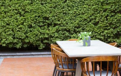 Cómo proteger los muebles de exterior en cualquier estación